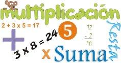 Suma, resta y multiplicación